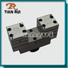plastic cable cover pvc profile extrusion mold die head