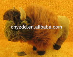 custom plush toys/black stuffed yak toy