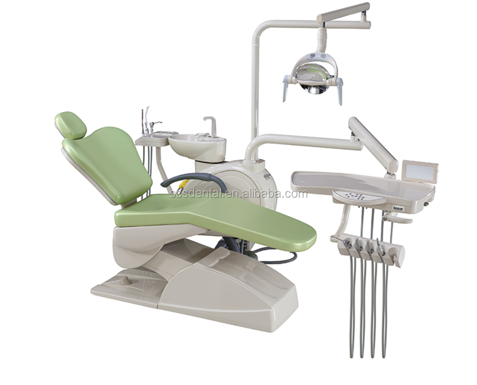 Used protable dental chair unit /Standard Equipment/Hot Sale Top Mounted