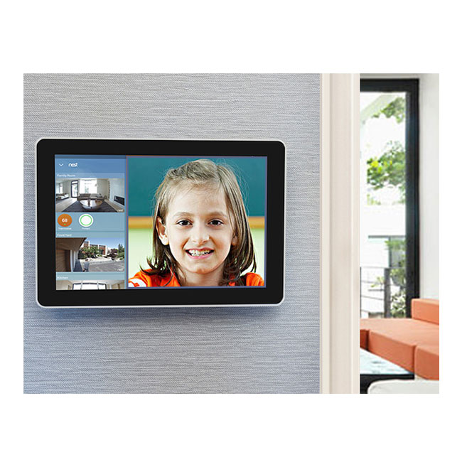 BVS 10.1 inch Wall Mounted Android Poe Tablet Pc With Ethernet RJ45