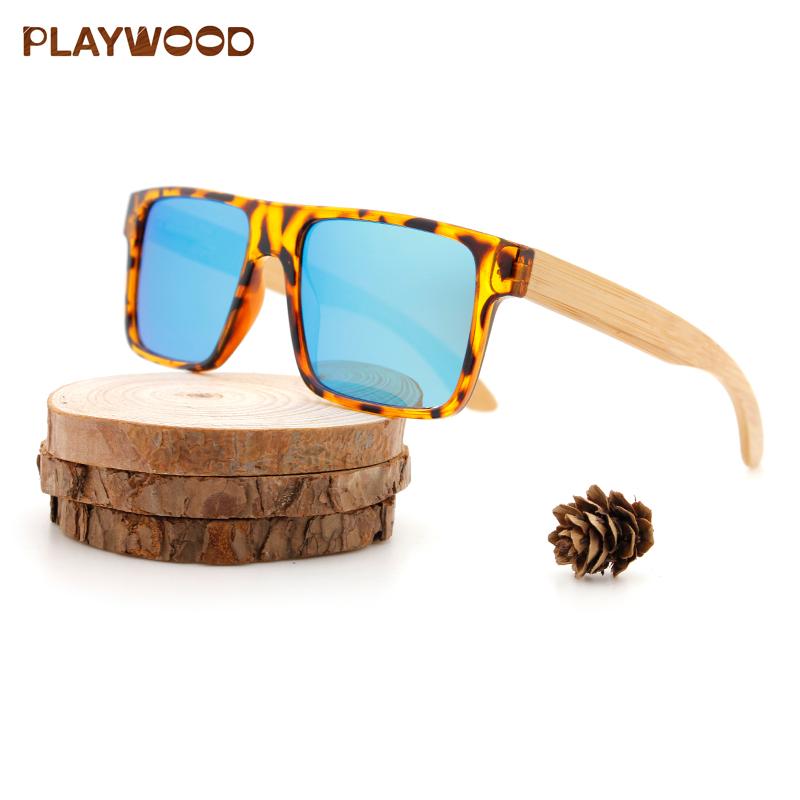 b54e35a88 Best-seller Da Moda Quadrado De Madeira De Bambu Óculos De Sol Dos Homens  Grife