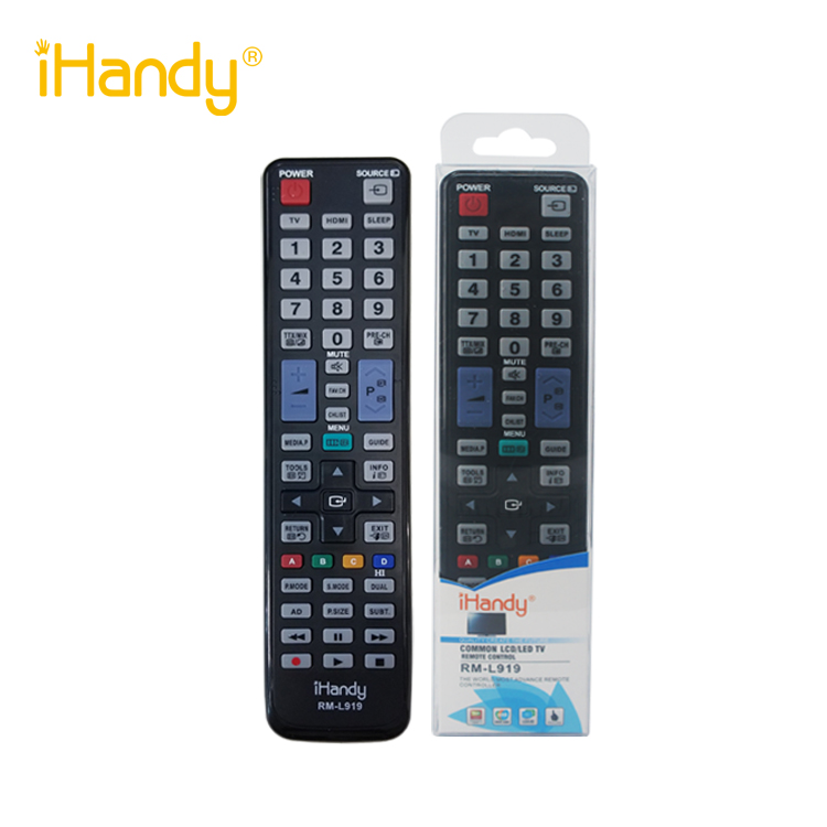 iHandy RM-L919 HOT SALE UNIVERSAL LCD / LED IR TV REMOTE CONTROL SUITABLE USE FOR SAMSUNG BRAND controller CHINA MANUFACTURER