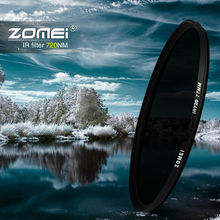 58mm IR 72 720 nm IR72 INFRARED FILTER for DSLR SLR camera lens