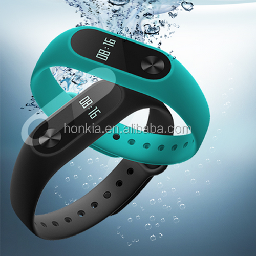New Arrival Original Xiaomi Mi Band 2 MiBand 2 Smart Heart Rate Fitness Wristband Bracelet