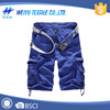 fashion style custom Twill cargo shorts with belt