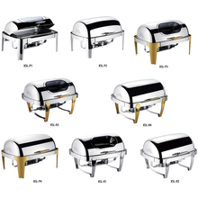 Wholesale restaurant hotel supplies buffet stove with window buffet food warmers