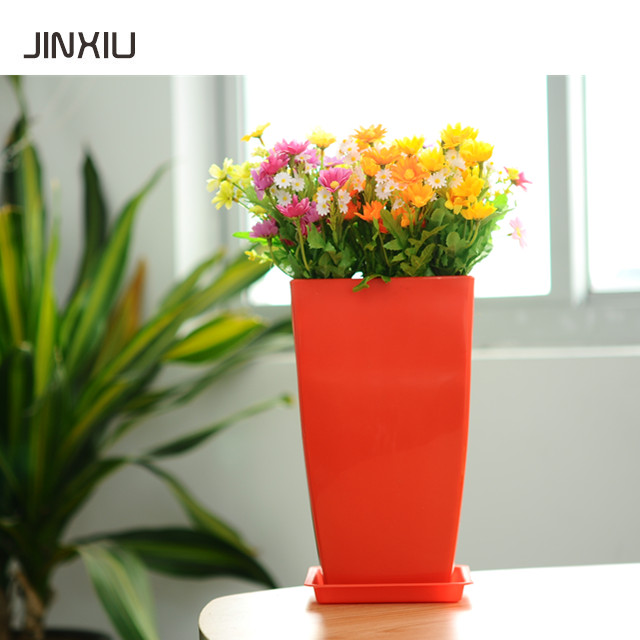 colourful plastic orchid plant pot colorful square indoor plants