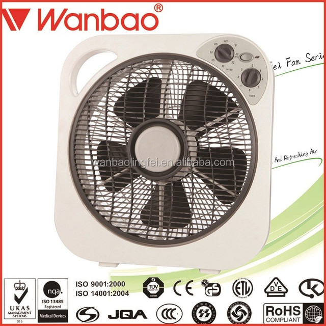 12 Inch Box Fan Small Household Appliance Office Use Air Cooling Fan