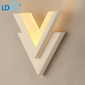 Fashion Modern Style Aluminum LED Wall Lamp Hotel Living Room Bracket compound lights