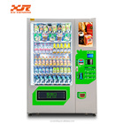Elevator vending machine for healthy products with alarm system