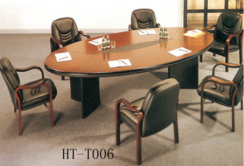 Hot Sale Unfolding Conference Table /solid Wood Meeting Desk/modern Round  Conference Desk