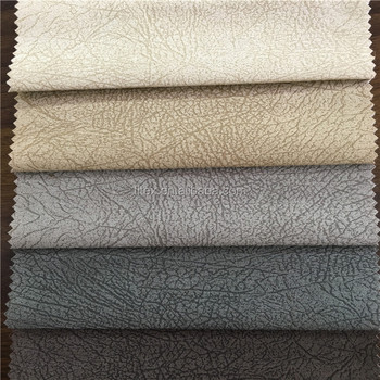 100% Polyester Suede Upholstery Fabric/vintage Suede Sofa Fabric/foil Suede Sofa  Fabric