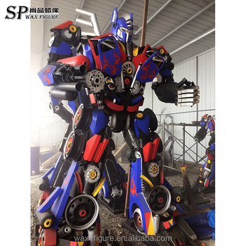 Transformers For Sale >> Hand Made Big Outdoor Iron Transformer Optimus Prime Robot Sculpture On Sale Buy Optimus Prime Robot Iron Transformer Sculpture Outdoor Iron