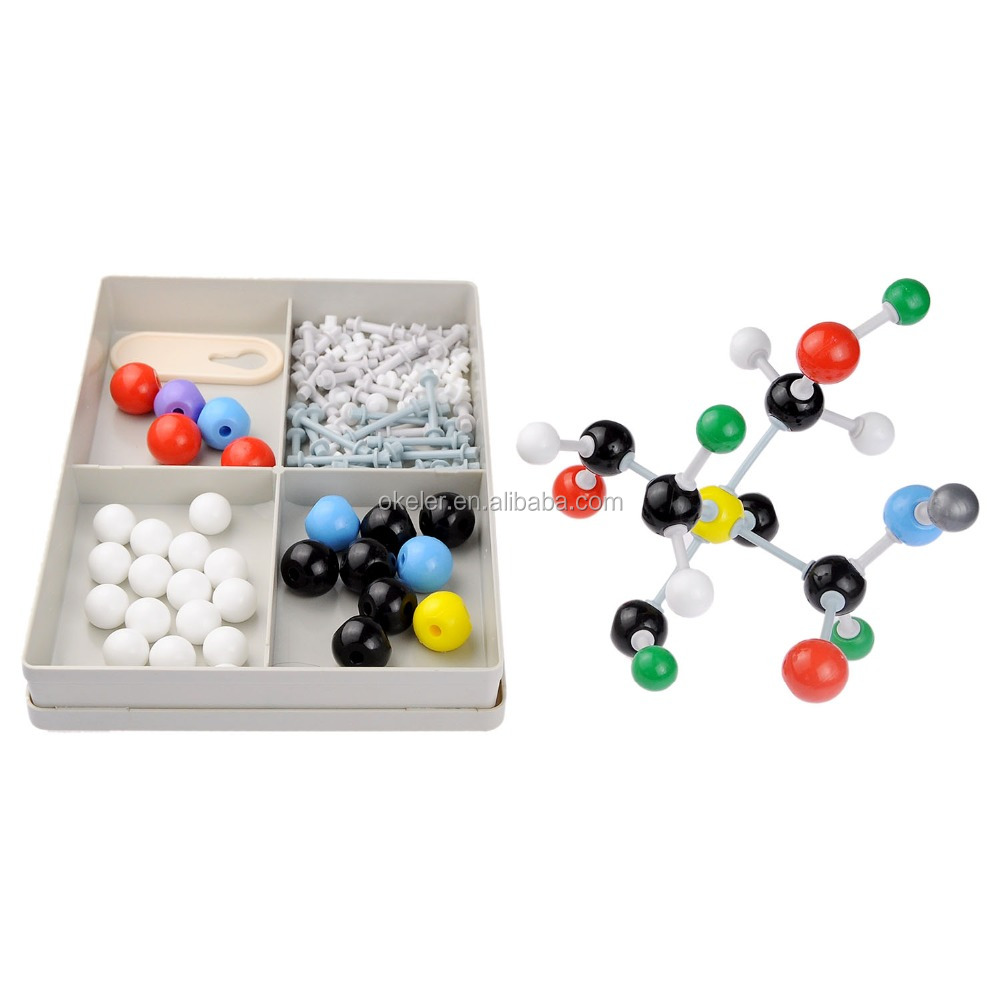 Different Chemistry Lab Experiments Atom Covalent Crystal Diamond Model Molecular Kit