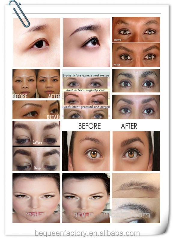 Natural Ingredients No Side Effects Eyebrow Serum