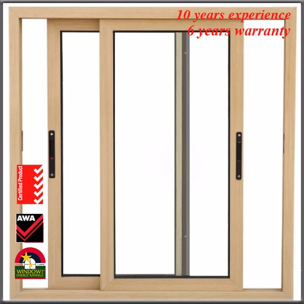 Aluminum Front Door 24 Inches Exterior Aluminum Profile Soundproof Double Tem