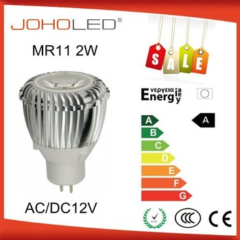 High Power 2w Led Gu10 35mm Led Bulb 25d Beam Angle Diameter 35mm ...