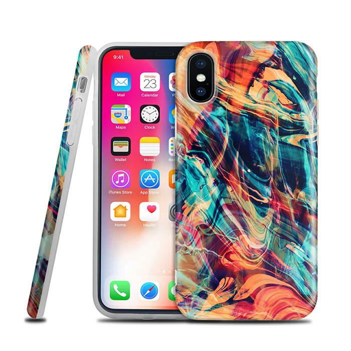 Wholesale New 2018 Smartphone X TPU PC Mobile Phone Shell Case for iPhone X Case