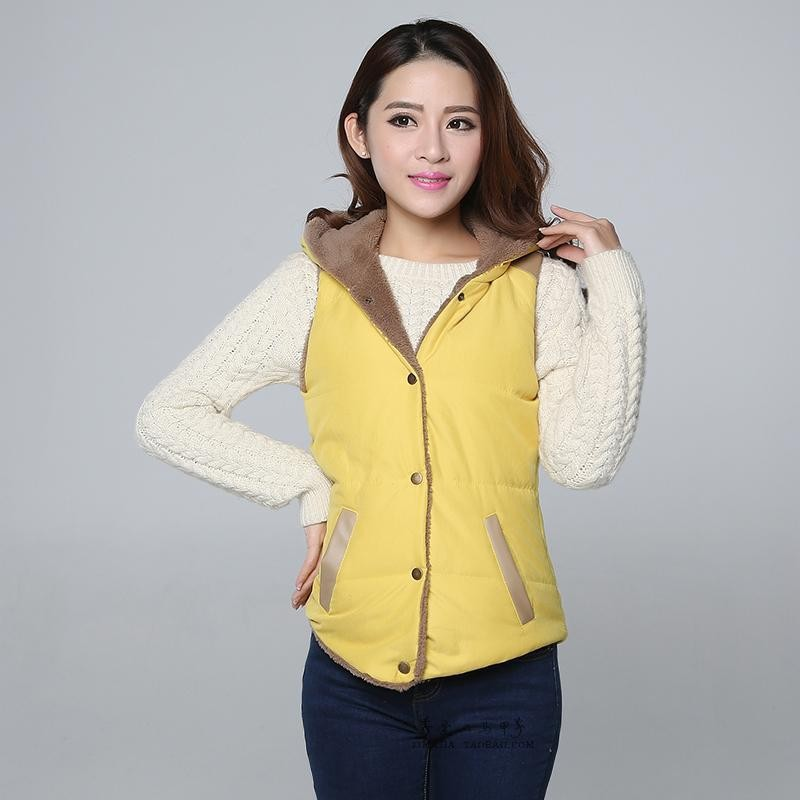 2015 Hot Sale Winter Thick Vest Warm Women Jacket ...