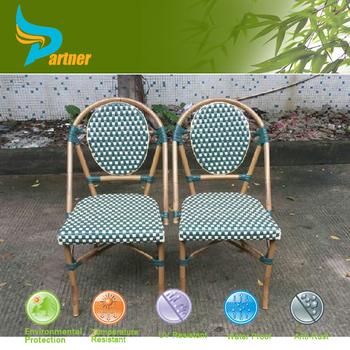 2016 Popular Design Garden Ridge Outdoor Furniture Aluminum Navy Metal  Bistro Chair
