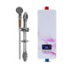 Small Toilet Bathroom Low Power Tankless Instant Electric Shower Geyser Water Heater For Shower