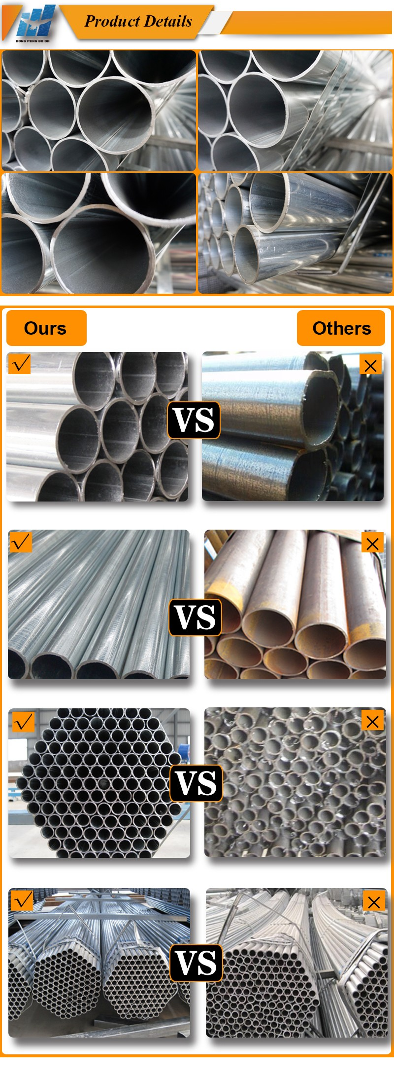 112mm cold rolled 6m length round pre galvanized pipe sizes