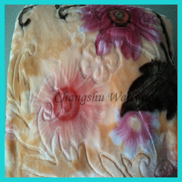 Lower price fashion wholesale best price blanket in china/raschel blanket/blankets 2 ply raschel