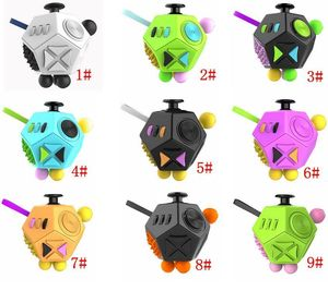 Fidget Dodecagon -12 Sided Fidget Cube Reduce Stress, Anxiety & Help Focus For Children and Adults