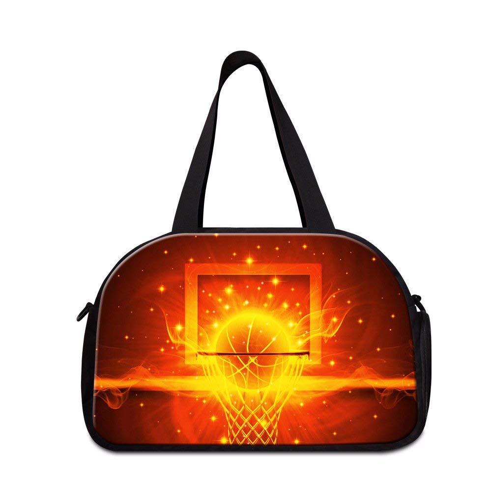 836bdcd299 Get Quotations · Dispalang Soccer Basketball Travel Bag Gym Bag Sports  Shoulder Duffle Bag