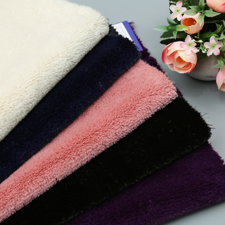 Wholesale 100% polyester pv plush toy fabric