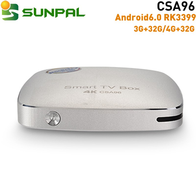 csa96 android 6.0 tv box rk3399 720p full hd video download iptv box channels