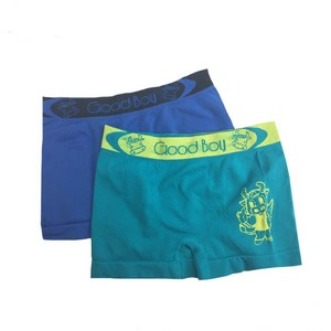 China Manufacturer Comfortable OEM Design Carton Lovely Boys Underwear Boxers