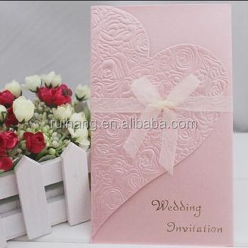 Royal pink handmade wedding invitation cards t200 buy customize royal pink handmade wedding invitation cards t200 stopboris Images