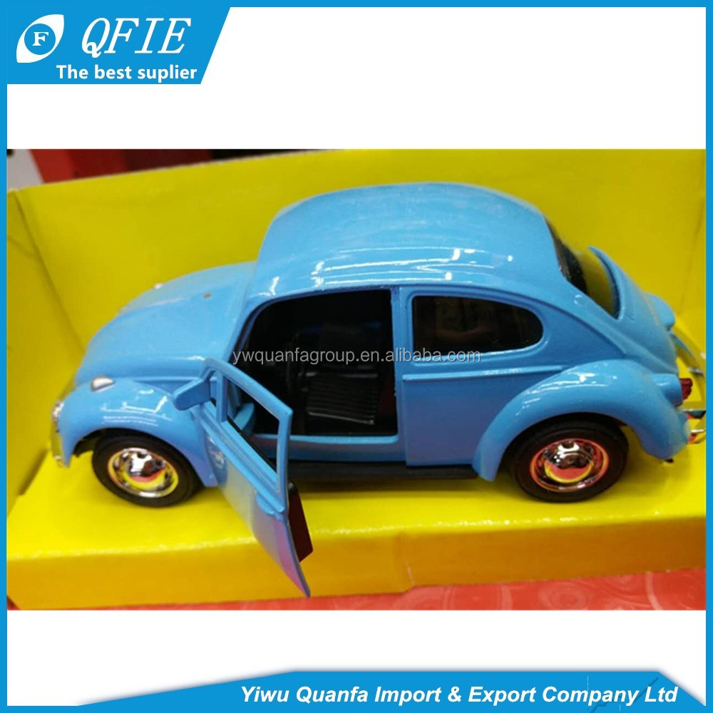 wholesale emulation beetle model small metal toy cars for kids and collection