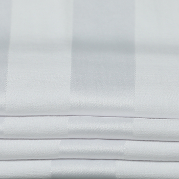 cotton bedding fabric material in roll for hotel bedding set