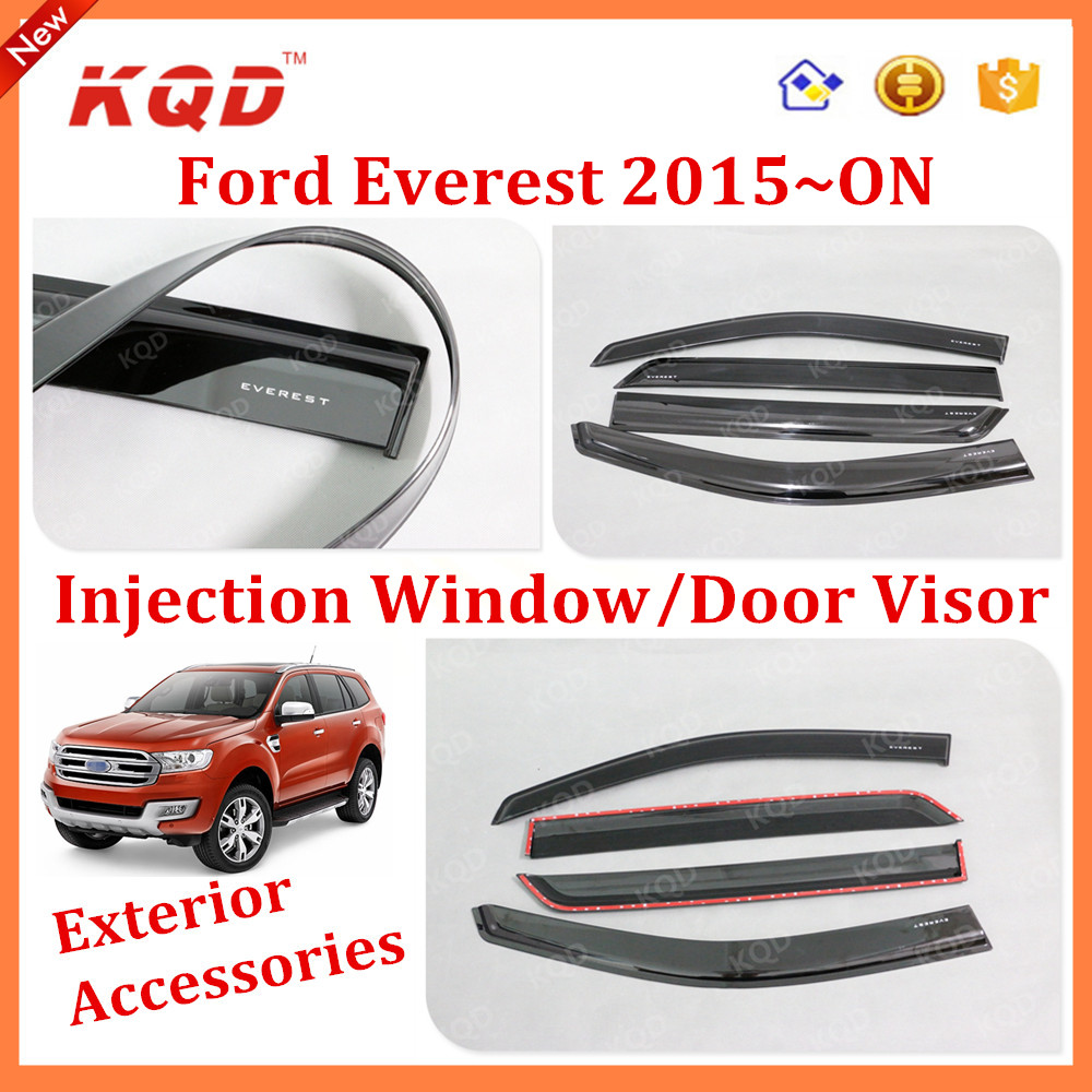 Everest 2016 new accessories everest door visor door visor fender for everest buy for everest door visor door visor fender for 2015 everest 2015 everest