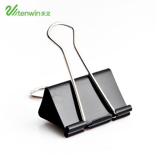 Different kinds 15 19 25 32 41 50 mm Assorted Sizes Micro Mini Small and Medium metal black documents binder clipboard clips