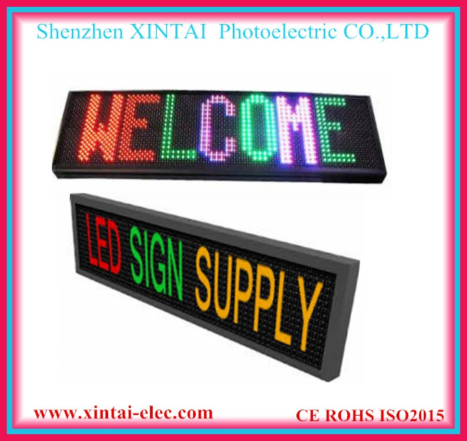 P10 electronic outdoor programmable led message sign