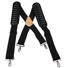 FREE SAMPLE FACTORY PRICE New designed Work suspender belt ,craftsman suspender with Max air shoulder pad padded