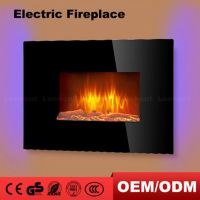 Low MOQ Cheap Ethanol Cottage Faux Electric Fireplace Heater