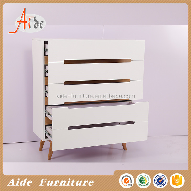modern white chest of drawer for bed room furniture bedroom set