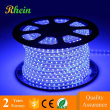 Top quality cheap price 110V/220V 60leds/m blue color 5050 flexible led strip