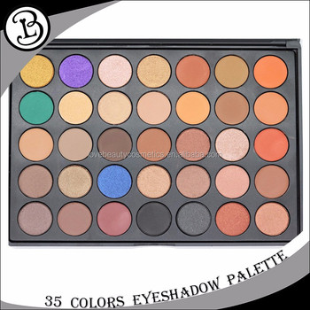 Best Makeup Pallets 35 Color Pigmented Eyeshadow Palette Creat Your Own  Brand Makeup , Buy Creat Your Own Brand Makeup,Pigmented Eyeshadow
