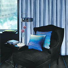 Double roman rod sheer and curtain flame retardant window curtain drapes