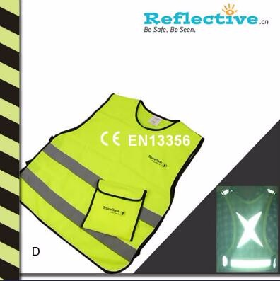 Reflective Safety Roadway Vest