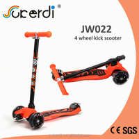 CE SGS certificated aluminum 4 wheel scooter trike scooter