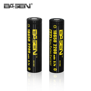 basen Discharge 18650 Battery IMR Li-ion 18650 Battery 3.7V 2200mAh 60A High Drain High Capacity 18650 Battery Mod