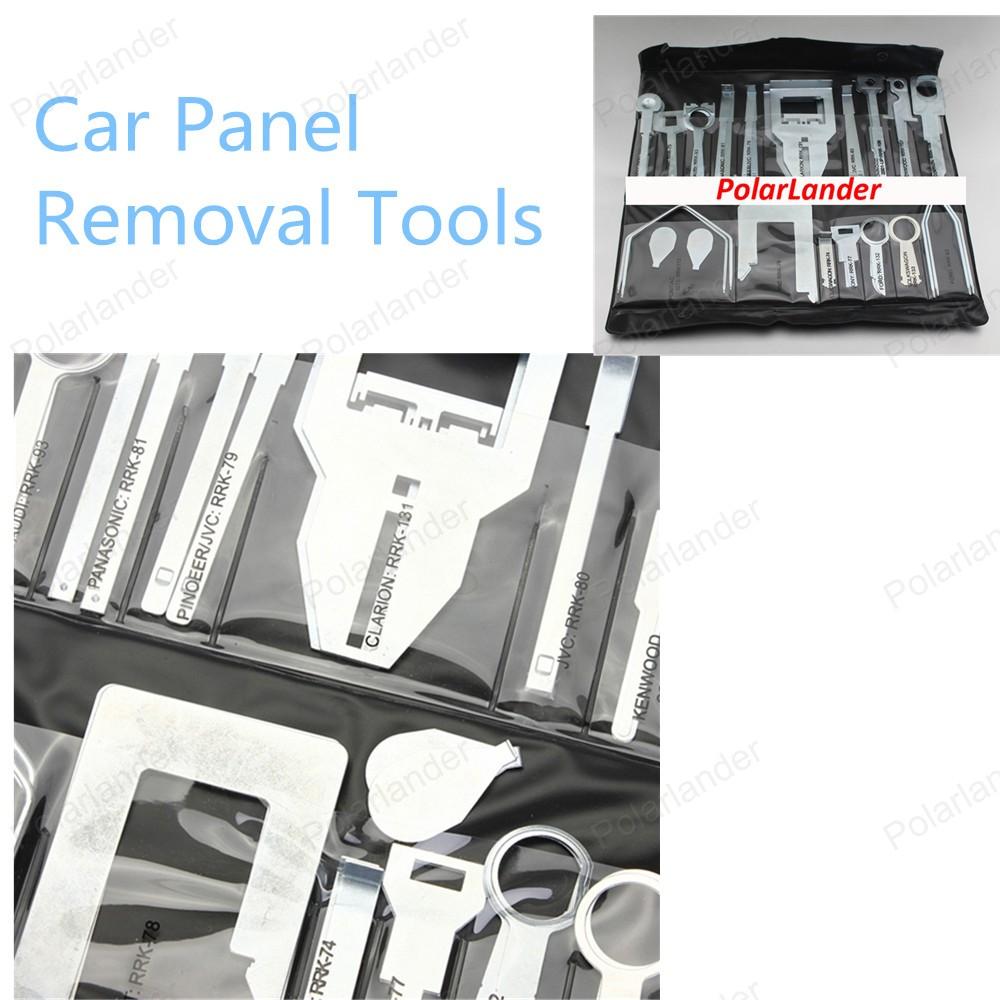 36 шт./компл. высокой Qiality ремонт комплект комплект инструментов автомобиля средство для удаления панели бесплатная доставка