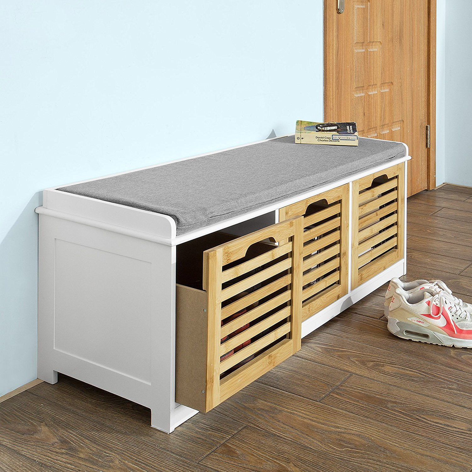 bench of at design japanese tansu shoe abako storage drawer drawers with