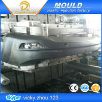 mode injection molding car bumper